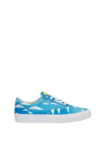 The Simpsons casual trainers