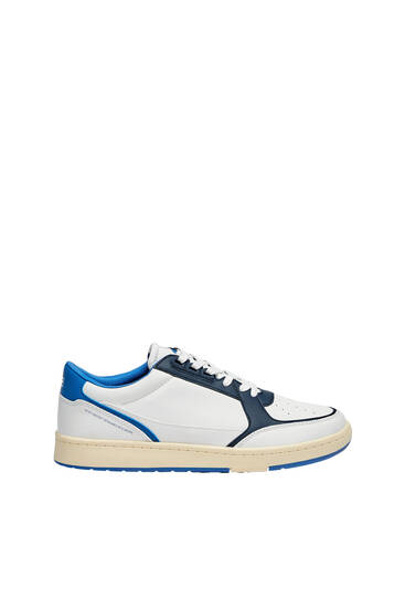 Casual contrast trainers