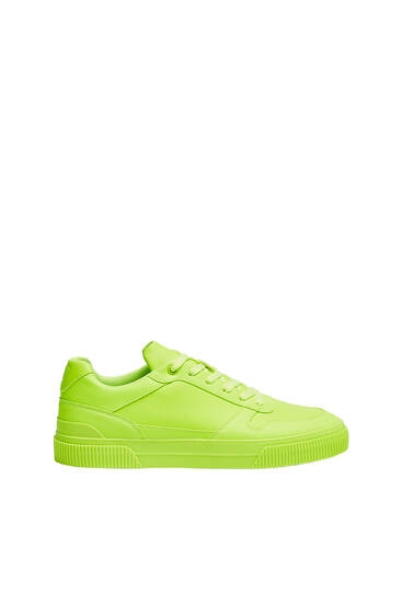Casual neon trainers