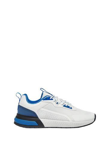 Trainers with heel tab detail