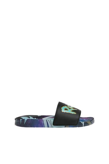 Rick and Morty slide sandals
