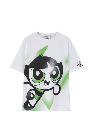 Cactus Powerpuff Girls T-shirt - At least 50% ecologically grown cotton