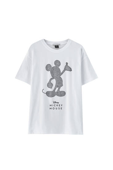 Mickey Mouse rhinestone T-shirt