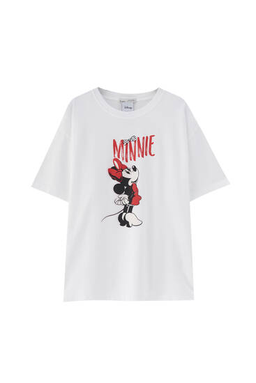 Minnie Mouse T-shirt - 100% ecologically grown cotton