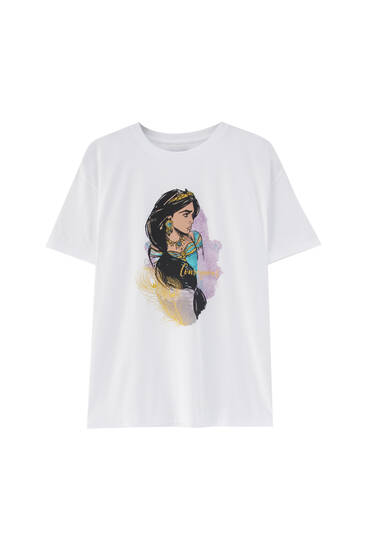 T-shirt with Jasmine profile