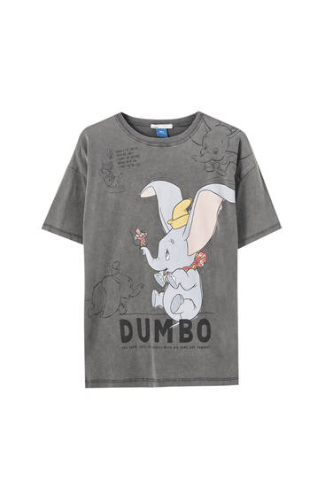 Dumbo T-shirt with slogan
