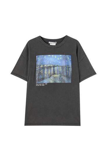 "Shirt ""Sternennacht"" van Gogh"