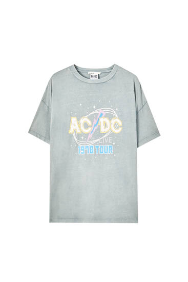 Футболка AC/DC с принтом 1970 Tour