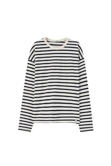 Camiseta rayas manga larga