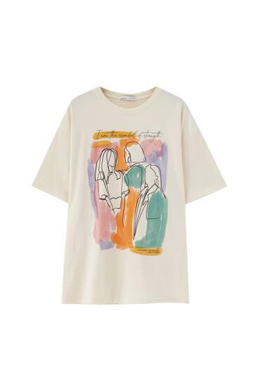 Camiseta Women's Day colores - 100% algodón orgánico