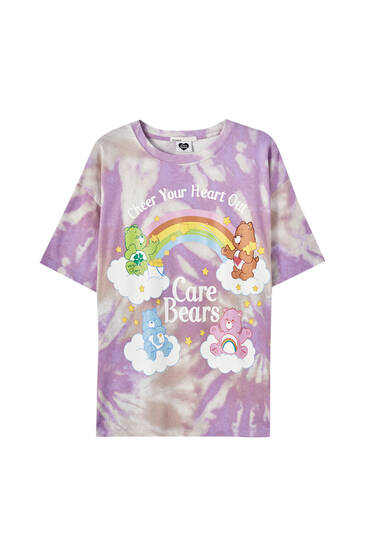 Tie-dye Care Bears T-shirt