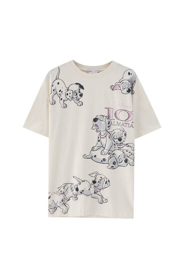 101 Dalmatians T-shirt - ecologically grown cotton (at least 50%)