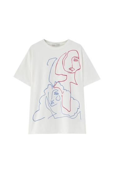 Camiseta Women's Day blanca