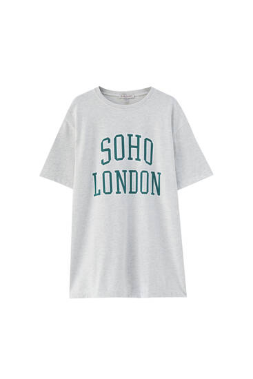 Soho London T-shirt dress