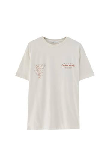 T-shirt zeebodem - 100% biologisch katoen