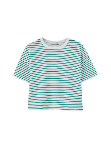 Nautical stripe T-shirt - ecologically grown cotton (at least 50%)