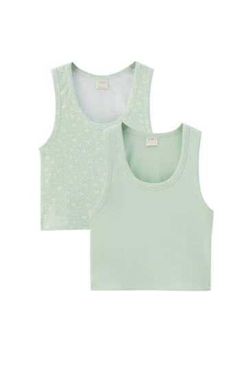 Pack of vest tops