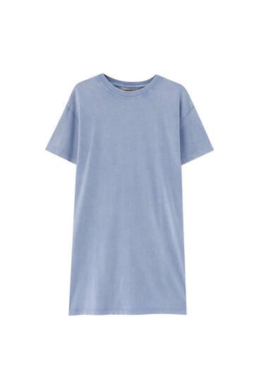 Robe T-shirt tie-dye - 100% coton biologique