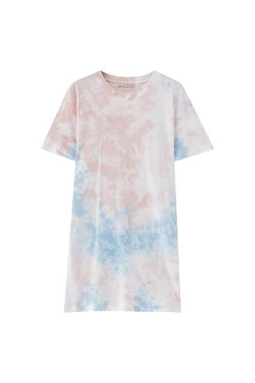 Vestido camiseta tie-dye - 100% algodón orgánico