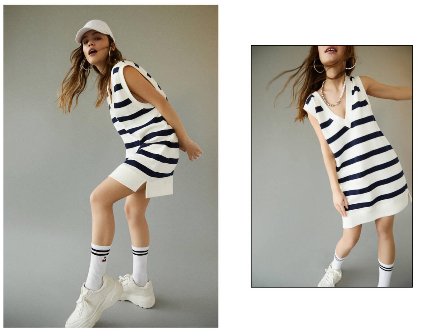 Платье-топ с V-образным вырезом 0-104 Pull & Bear
