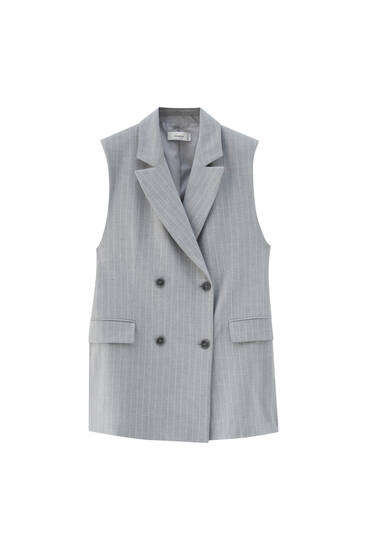 Tailored buttoned waistcoat