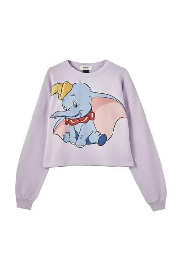 Sudadera Dumbo violeta