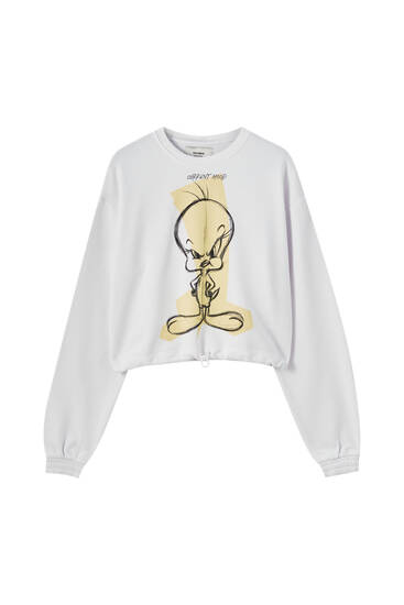 Tweety Bird round neck sweatshirt