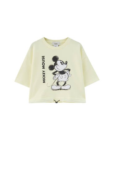 Mickey Mouse drawstring T-shirt - At least 65% ecologically grown cotton