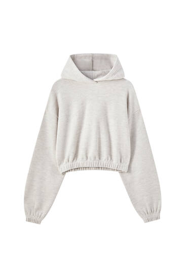 Soft-touch hoodie
