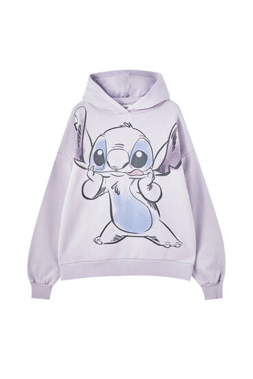 Lilo & Stitch purple sweatshirt