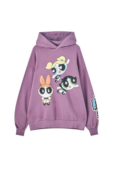 Purple Powerpuff Girls hoodie