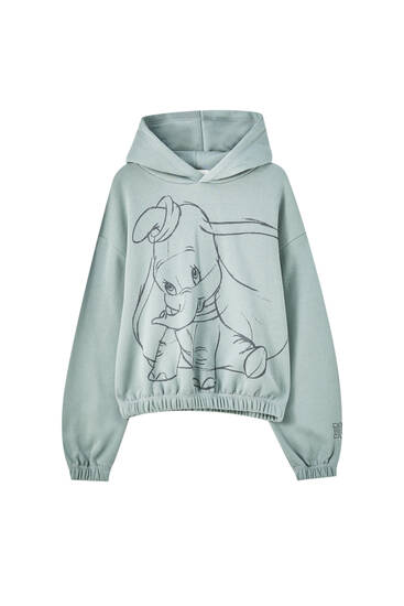 Dumbo sweatshirt with elastic hem