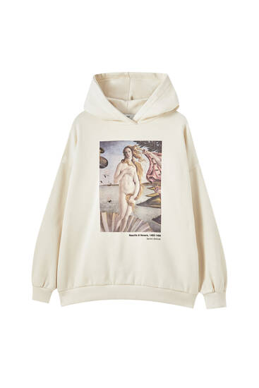 Botticelli check hoodie