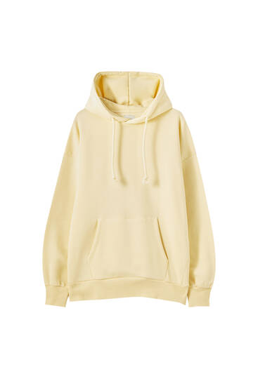 Sweat basique oversize capuche