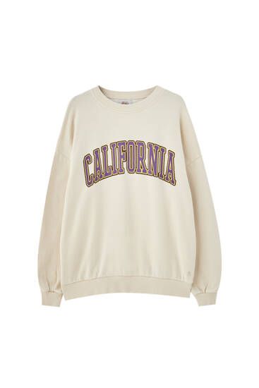 California varsity sweatshirt
