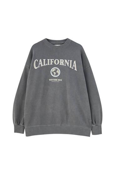 Varsity logo sweatshirt