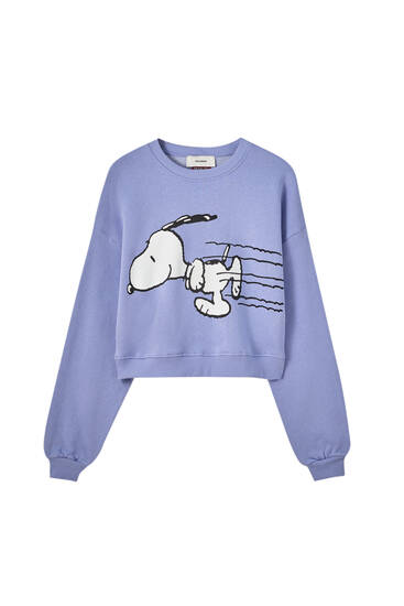 Blue Snoopy sweatshirt