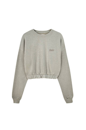 Flecked STWD sweatshirt