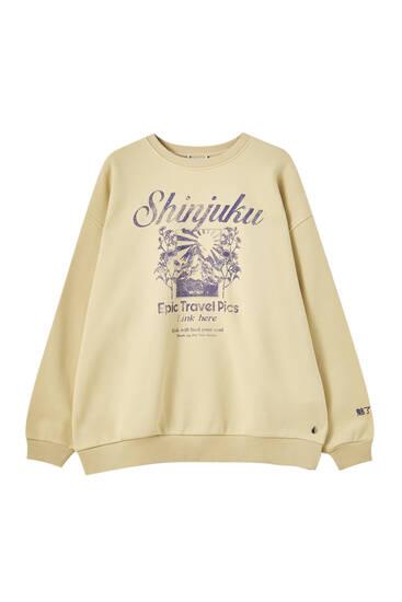 Shinjuku pistachio sweatshirt