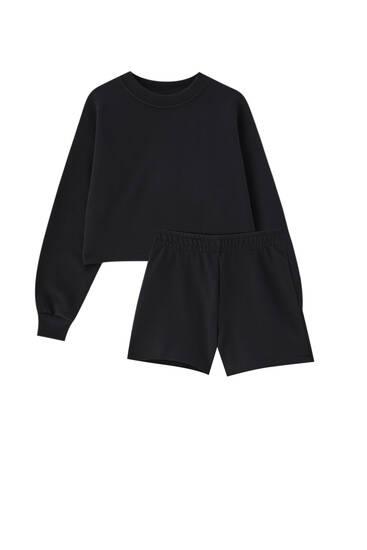 Pack of short sweatshirt