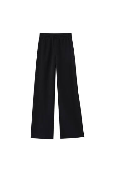 Soft-touch joggers with drawstring
