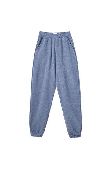 Joggers with elastic waist