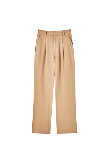 Basic trousers with darts