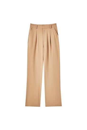Pantalon basique à pinces
