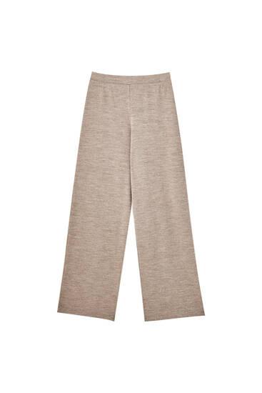 Χυτό παντελόνι με απαλή υφή