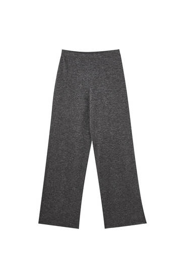 Soft-touch flowing trousers
