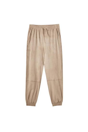 Pantalón jogger antelina