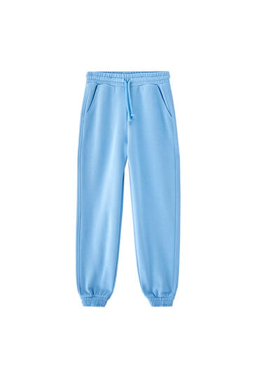 Pastel-coloured joggers