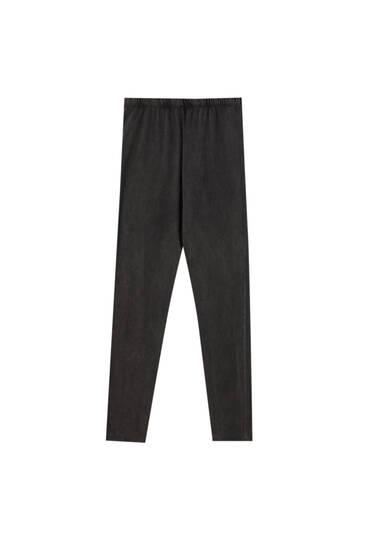 Faded grey leggings