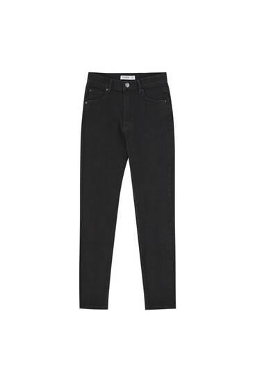 Basic mid waist jeans